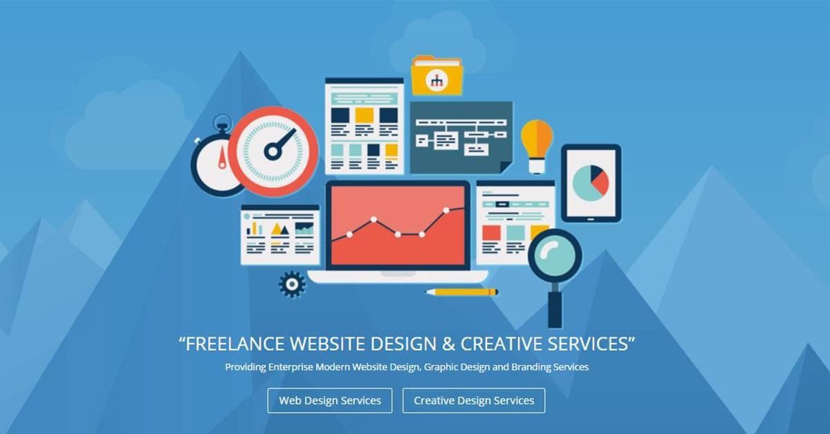 Freelance Website Design Creative Services